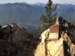 Das Bergwanderbuch am Staufen - mit Blick auf Bad Reichenhall