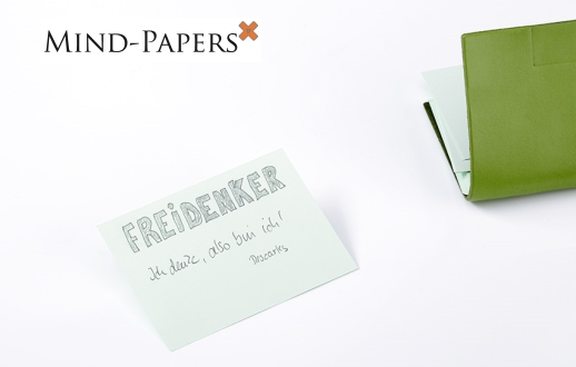 Bleistift Belgisches Leder braunMarone Sloop A7 Mind-Papers nachhaltig; Inhalt: Ca 17 Jahre Garantie* revolution/äres X17-Karteikarten-Lernkarten-Box-Konzept 30 Karten Made in Germany